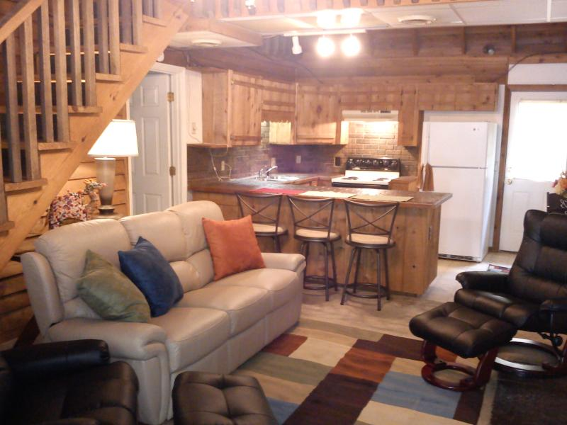Den, Breakfast bar, kitchen - Sweethome Place Vacation Rental- NON-SMOKING - Chapmansboro - rentals