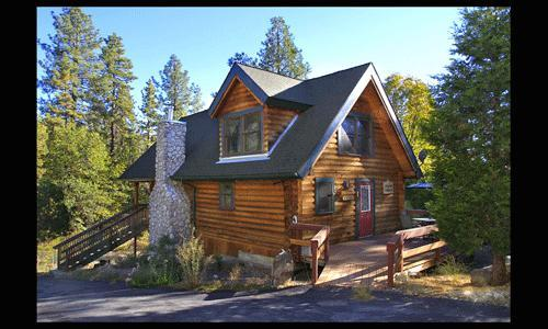 Large 1 Bedroom 1 Bath w/ rock fireplace and short walk to town - Brighton Cabin - Idyllwild - rentals