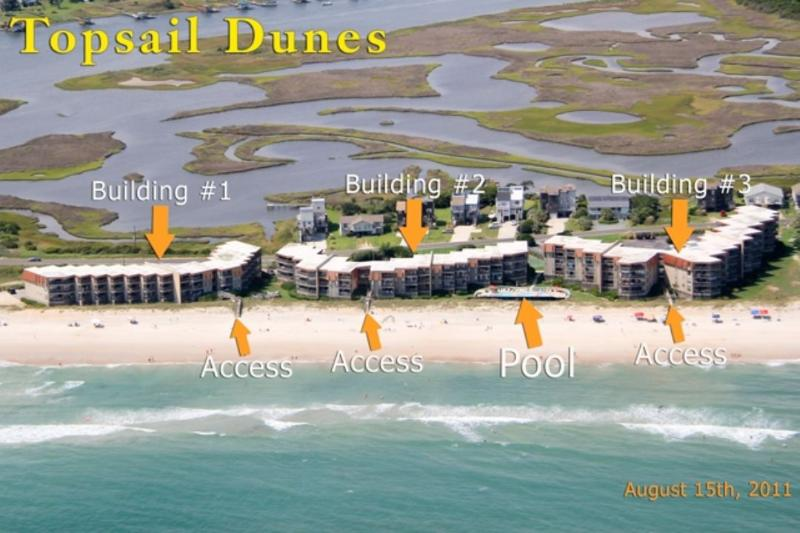 From the air - Topsail Dunes 3211 -2BR_8 - Sneads Ferry - rentals