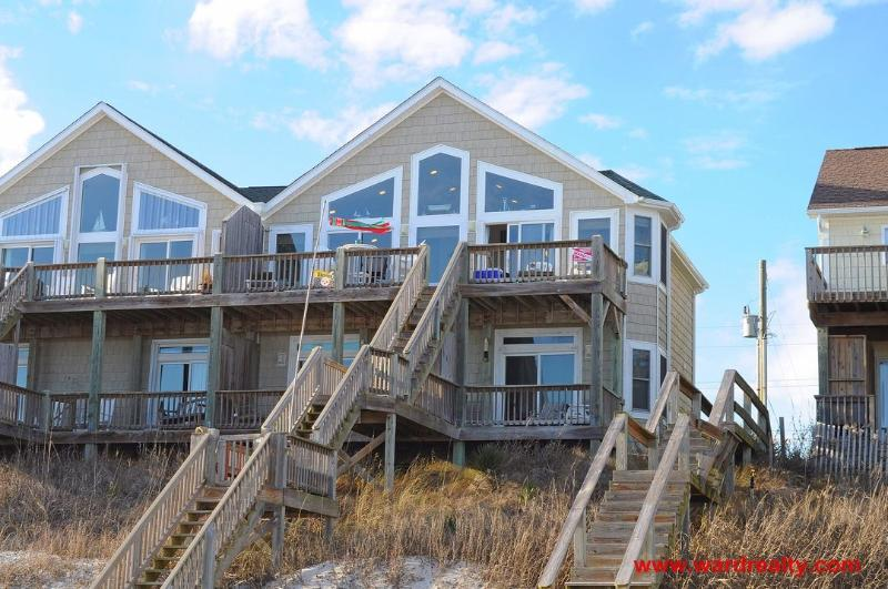 Oceanfront Exterior - Hukilau - Surf City - rentals