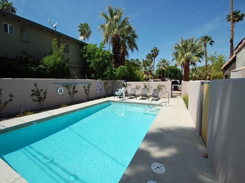 Pool Area - Spanish Villa Two Bedroom #4 - Palm Springs - rentals