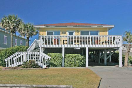 Streetside view of 1511 North Shore Drive - 1511 North Shore Drive - Surf City - rentals