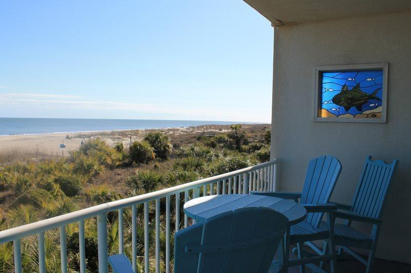 Beach House On The Dune - Unit 421 - Panoramic Views of the Atlantic Ocean - Image 1 - Tybee Island - rentals