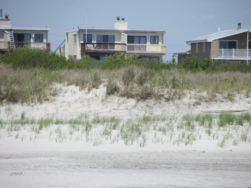 View from the beach - Direct Oceanfront Home - Brigantine - rentals