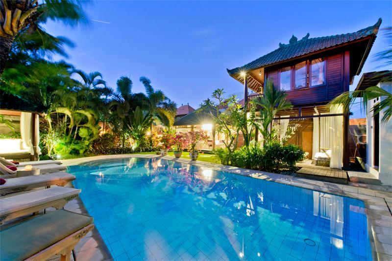 Pool Area - Villa Manggis Sanur - Luxury Accomodation - Sanur - rentals