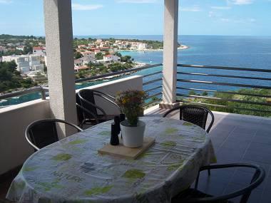 A1 Drugi kat (2+2): terrace - 35303 A1 Drugi kat (2+2) - Cove Kanica (Rogoznica) - Cove Kanica (Rogoznica) - rentals