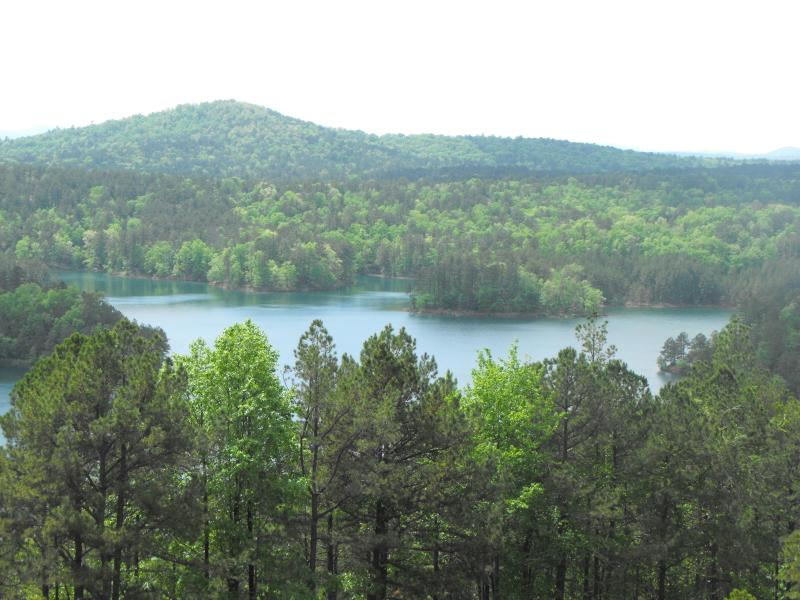 Overlook view - Lakefront  Park Like Setting  Mountain Views - Hot Springs Village - rentals