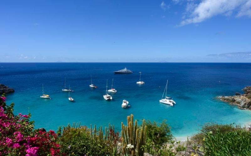 Grands Galets at Lurin, St. Barth - Ocean View, Pool - Image 1 - Lurin - rentals