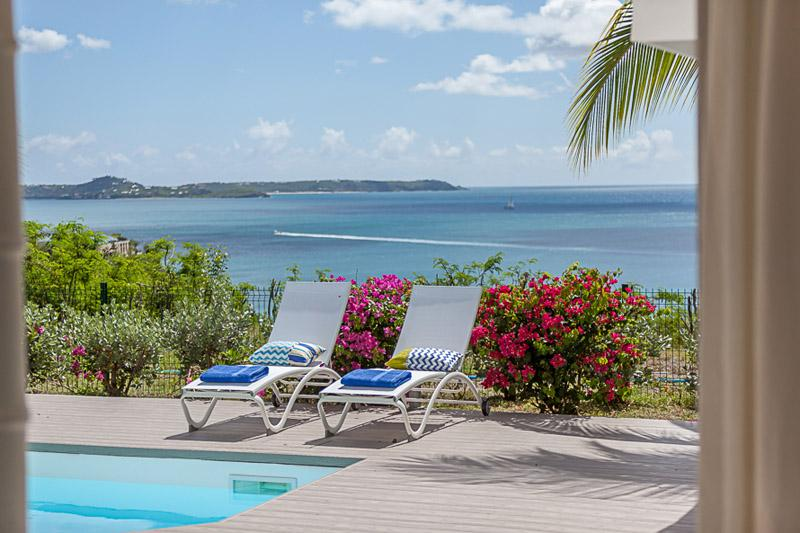 Sea Dream... 3br villa in Happy Bay, St Martin 800 480 8555 - VILLA SEA DREAM...wonderful ocean and sunset views in Happy Bay, St Martin - La Savane - rentals