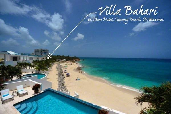 Bahari at Shore Pointe, Saint Maarten - Beachfront Property, Ocean View, Pool - Image 1 - Cupecoy - rentals