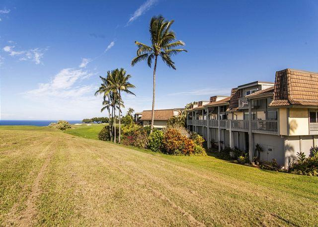 Spectacular Ocean and Golf Course views, 3 bedroom condo - Image 1 - Princeville - rentals