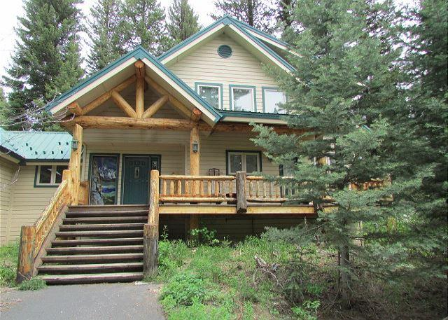 Front of Home - Spacious Mountain Retreat with lots of windows for nature views - McCall - rentals