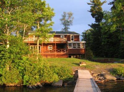 #115 Birchknoll ~ Sunsets from your deck or private dock! - Image 1 - Greenville - rentals