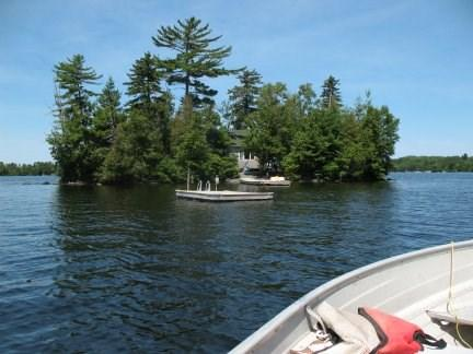 Exterior island picture from lake - #142 Getaway to a Moosehead Lake island! - Greenville - rentals