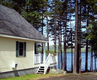 Side Exterior View from Driveway - #143 Complete cottage with all the amenities & the best view! - Greenville - rentals