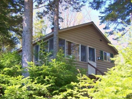Front Exterior - 156 Well-appointed cozy cabin on water`s edge with mountain views - Greenville - rentals