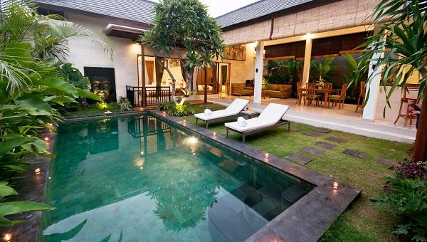 Private pool - Sandi Agung Villa - Bali - rentals