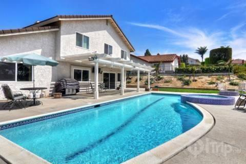 Lap pool and Spa - Family House with Private Pool - Carlsbad - rentals