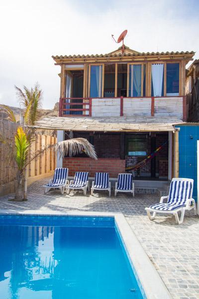 ALQUILER CASA BALLENA AZUL MANCORA - Alquiler Casa Del Playa En Mancora Peru - Mancora - rentals