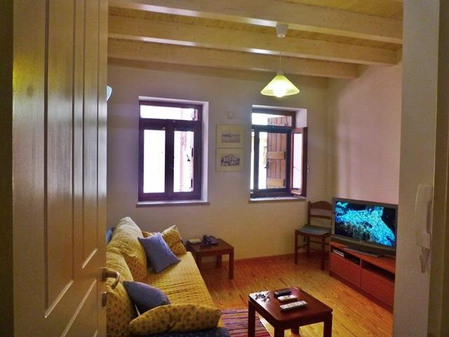 living room - Chania small house in Old Town - Chania - rentals