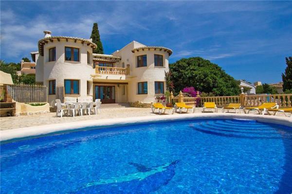 5 bedroom Villa in Moraira, Costa Blanca, Spain : ref 2211029 - Image 1 - La Llobella - rentals