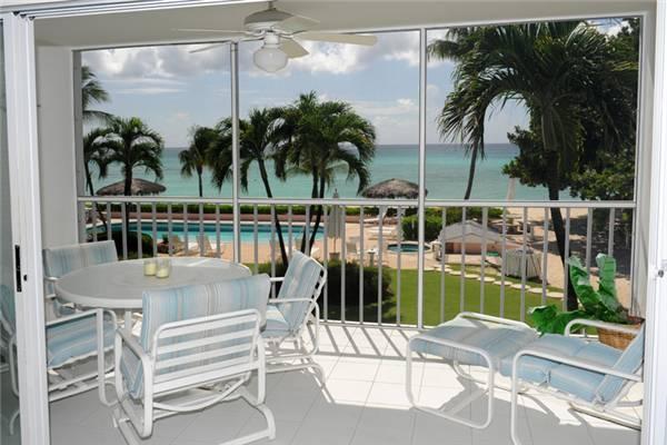 Aqua Bay Club #14- 2BR Oceanfront Condo - Image 1 - Seven Mile Beach - rentals
