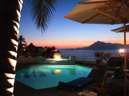 Early evening, Casa Las Brisas - La Punta,Manzanillo,Ocean views & Sunset from $500 - Manzanillo - rentals