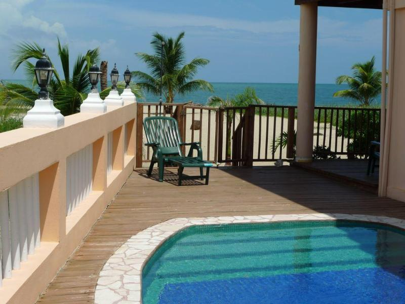 Mirasol 1BD Belize Placencia beach apartment pool - Image 1 - Placencia - rentals