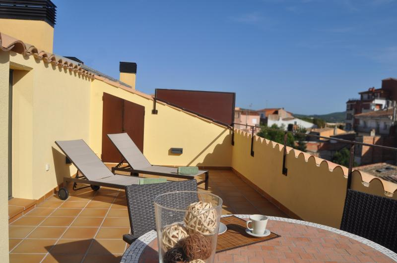 Can Tarongeta_Apartment Penthouse_Terrace - CAN TARONGETA Apartment 2-1: New with Old Style - Palafrugell - rentals