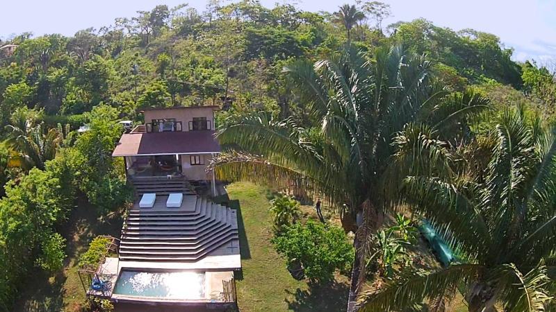 $1100-2 br/2 bth+Twin Loft (sleep 7+Additional Cabina Available sleeps 4) - Ocean view w/ Private Pool - Image 1 - Montezuma - rentals