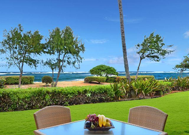 Beach FRONT GF  Closest to the sand!! SA $329 CALL NOW - Image 1 - Kapaa - rentals
