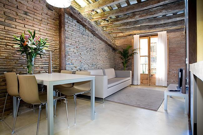 Living space - Luxury studio in very central location - Barcelona - rentals