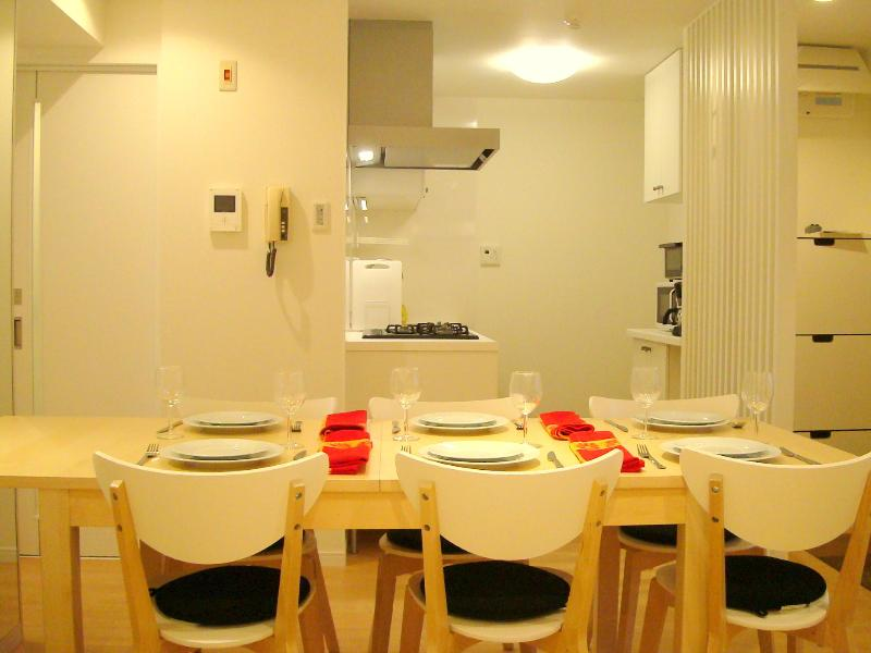 Dining room - Elegant Shibuya 2BR Apt in luxury residential area - Shibuya - rentals