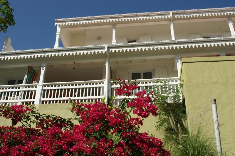 View from Street parking.JPG - Saint Bart's Villa Over Shell Beach - Gustavia - rentals