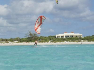 Kite in front of the Villa - Villa Esencia - Providenciales - rentals