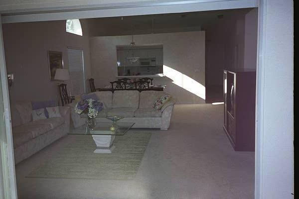 Living room viewed from lanai - AN ELEGANT, COMFORTABLE VILLA - Naples - rentals
