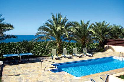 View from Villa - Sea Front Villa  Stunning sea views dawn to sunset - Paphos - rentals