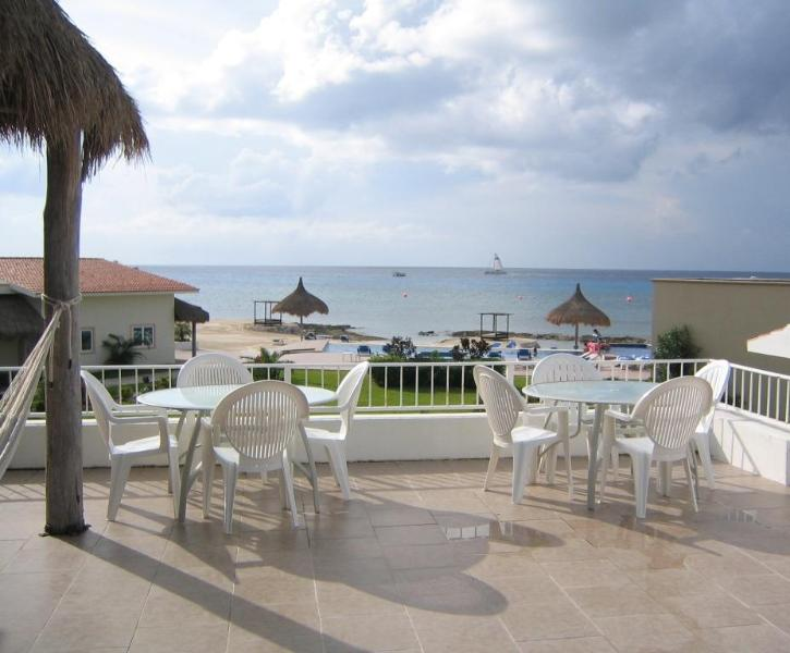Casa Linda's Huge Terrace! - Amazing 4 bd Home, Ocean view, Pool & Private Pier - Cozumel - rentals