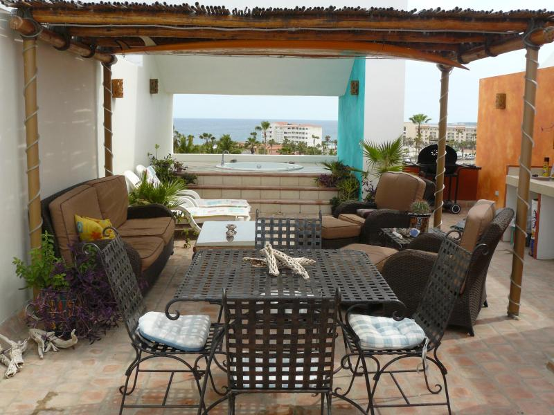 Private roof top terrace - Penthouse Condo-Golf /Ocean Views/Private Roof Top - San Jose Del Cabo - rentals