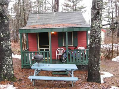 Exterior of Cottage 10 - Sun Valley Cottages, Cottage #10 - Weirs Beach, NH - Laconia - rentals