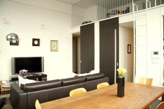 Living / Dining room - Comfy and large apartment in Central Tokyo - Tokyo - rentals