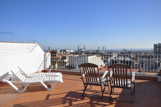 Gaudi Penthouse 1 - Image 1 - Barcelona - rentals