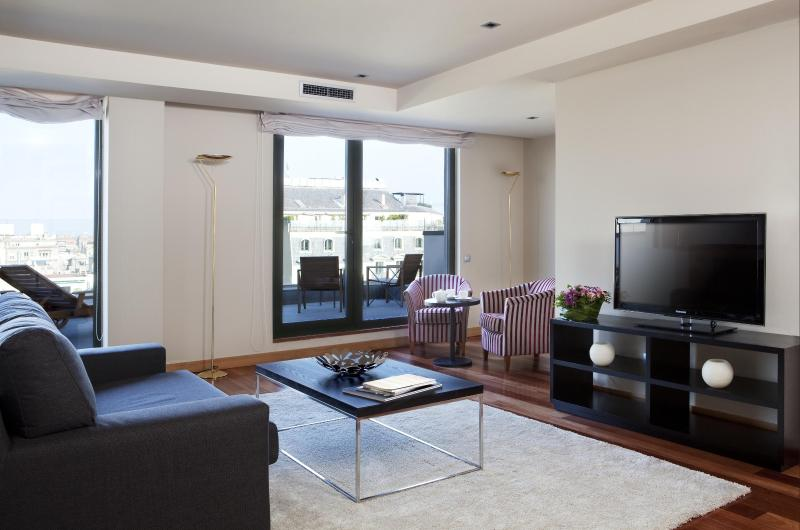 Living room - Paseo De Gracia 69 - Barcelona - rentals