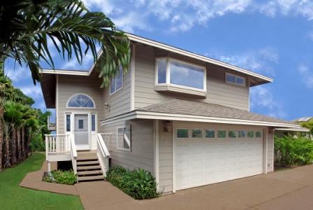 Home Entrance - Charley Young Beach House: 3-bed 2-bath Ocean View - Kihei - rentals