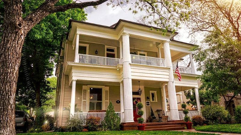 The front of the house - O'Casey's Bed & Breakfast - San Antonio - rentals