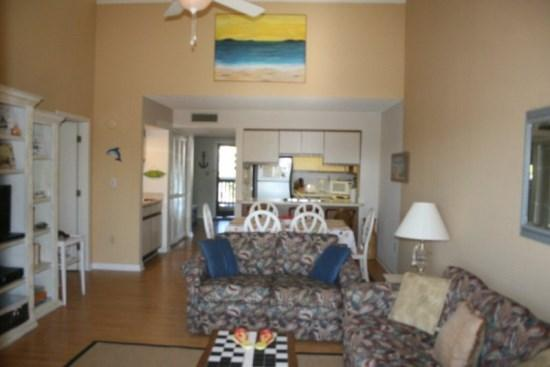 Living Room 1 - Beautiful Salt Water Inlet Views!! - Myrtle Beach - rentals