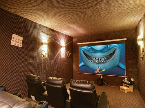 Theater - Mystical Creek Pool Lodge - Cosby - rentals