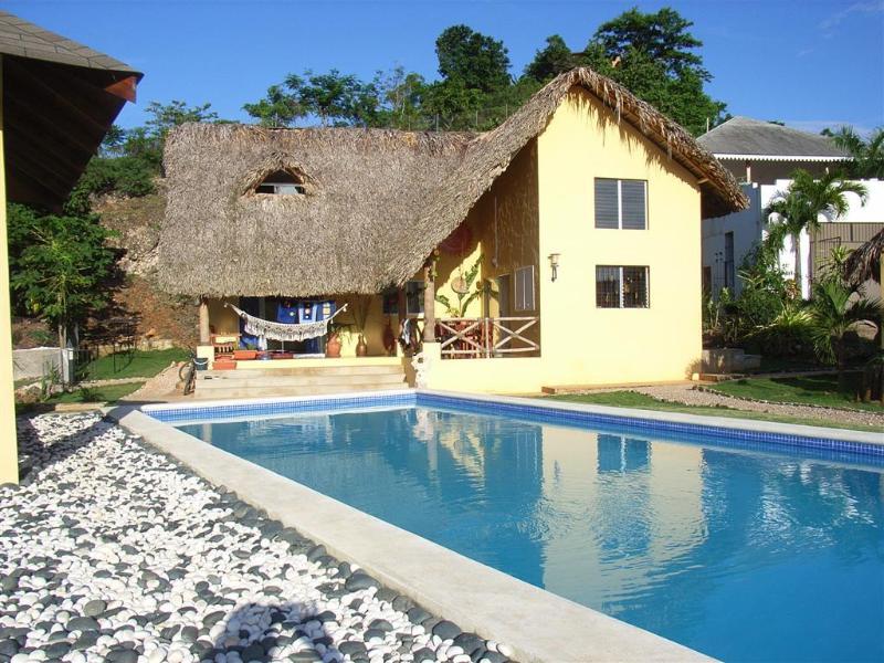 Casa Amarilla - Caribbean style 2 bedroom villa with pool - Las Terrenas - rentals