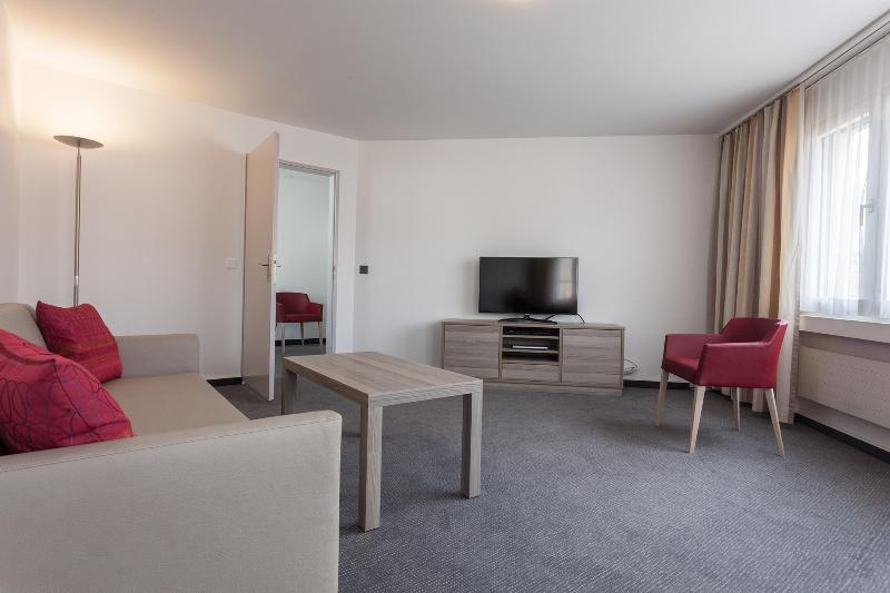 Living Room - EMA house Serviced Apartment, Sihlfeldstr.127, 1BR - Zurich - rentals