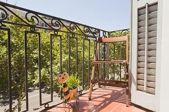 Balcony View - Apartment Eixample - Sagrada Familia - Ref 84 - Barcelona - rentals